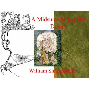 Midsummer Night's Dream Power Point PPT- his is a beautiful, image filled power point that discusses the major characters in Shakespeare's play Midsummer Night's Dream. It also includes information about the themes, motifs and symbols in the play. Individual slides can be printed and displayed on a bulletin board to help generate interest in the play while students read it.