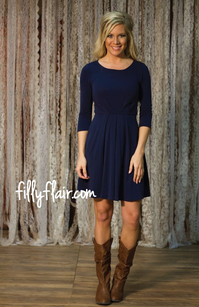 Simple and Chic in Navy