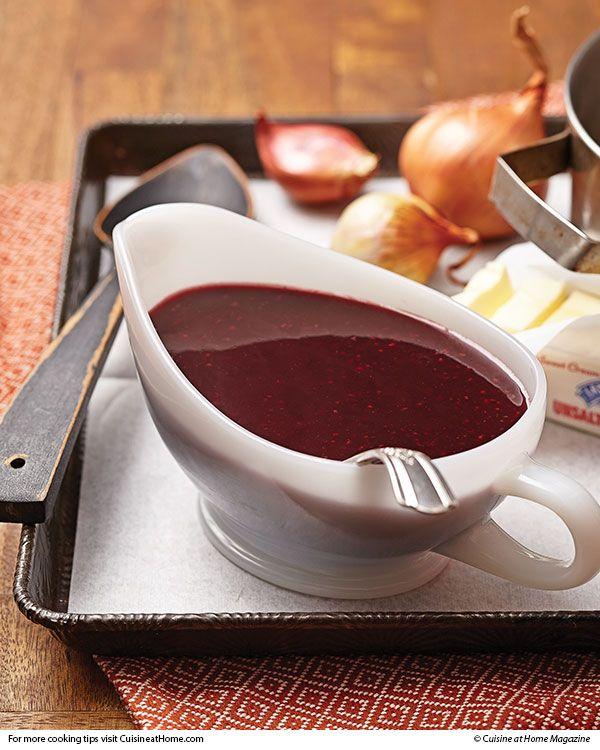 Wellington Sauce | Cuisine at home eRecipes - goes with cuisine at home wellington turkey recipe :)