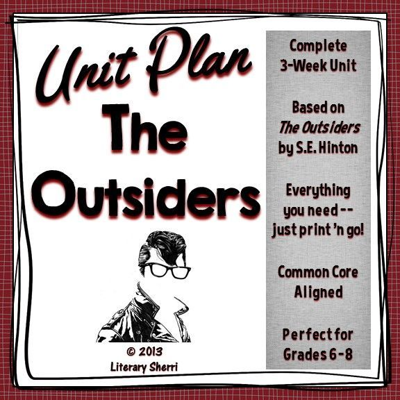 literary analysis of the outsiders How to write a character analysis learning how to write a character analysis requires a thorough reading of the literary work with attention to what the author reveals about the character through dialogue, narrative, and plot.