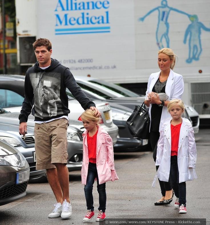 Headed Home: Steven Gerrard & Family