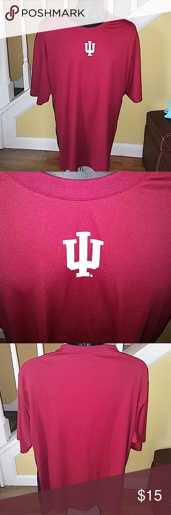 Men's IU Campus Heritage XXL Tshirt Excellent condition. Red,gray,black design up both sides (pictured). Campus Heritage  Shirts Tees - Short Sleeve