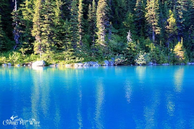 The Turquoise Waters of Garibaldi Lake.