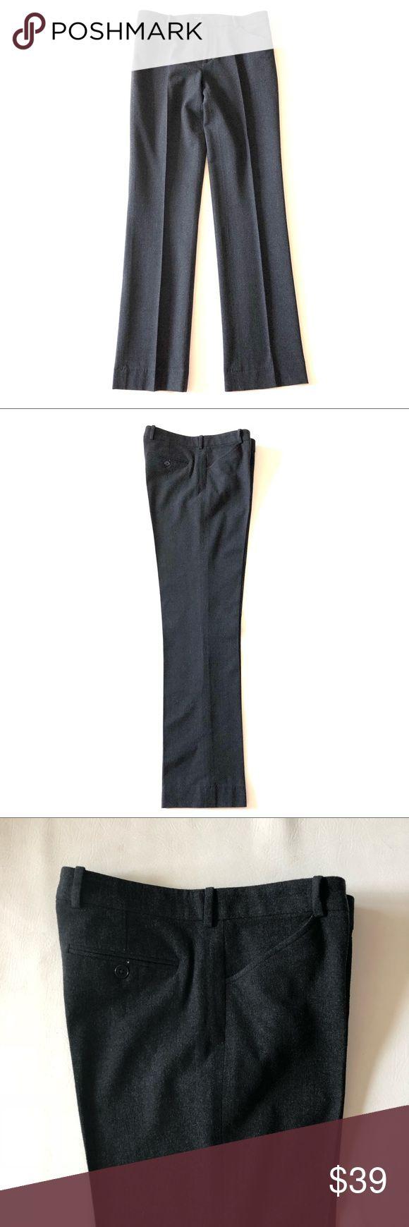 "Ralph Lauren gray wool pants 4 Ralph Lauren gray wool pants 4 Size 4 Waist 31"" Inseam 32"" Gray wool  Straight trouser fit Perfect condition Ralph Lauren Pants Straight Leg"