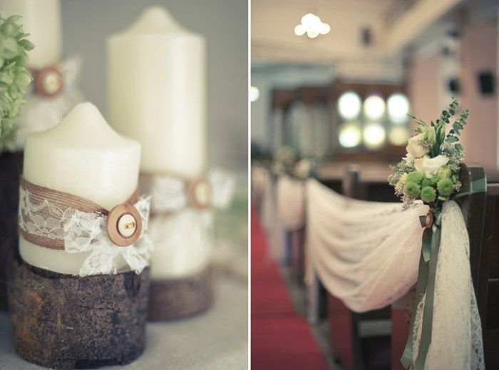 © Perfect Shot. The Wedding Notebook – Country vintage wedding decorations