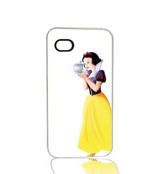 Snow White White Background iPhone 4 4s iPhone 5 by humanitysource