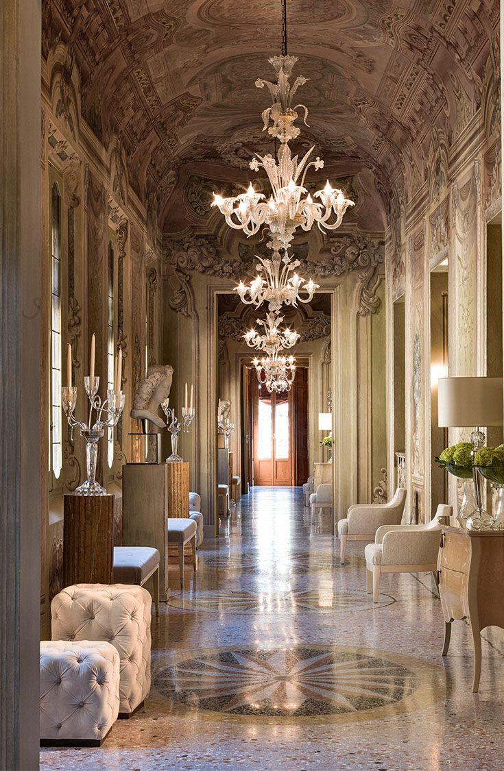 Palazzo Orsi Mangelli corridors