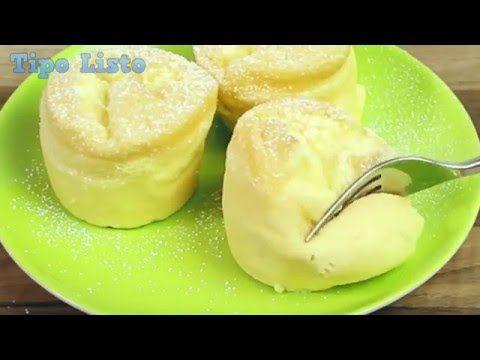 Estas tartitas son ligeras como el algodón y necesitan solo 3 ingredientes. Quien aún pase horas en la cocina es porque quiere