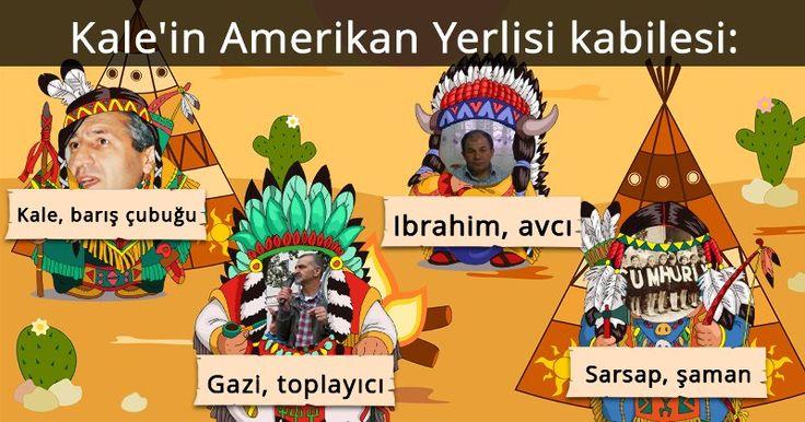 Amerikan Yerlisi kabilen neye benziyor?