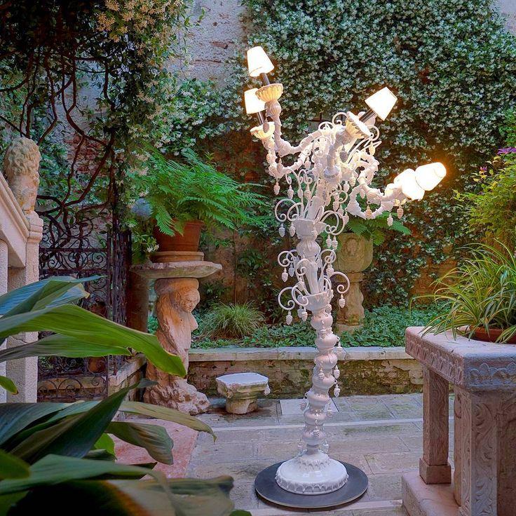 The Secret #garden of #Venice.   #andromeda #murano #design #light #luxury #valentine #day #architecture