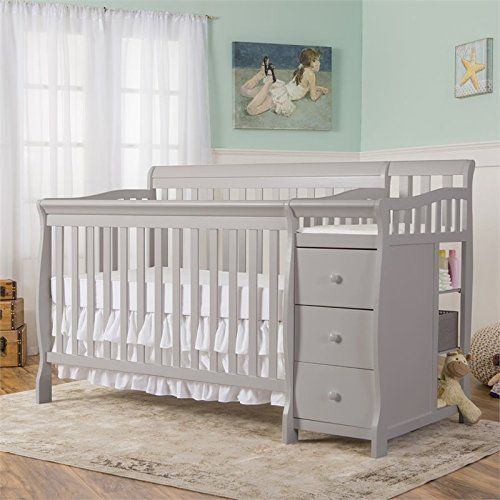 Dream On Me 5 In 1 Brody Convertible Crib With Changer P