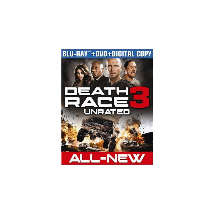 Death Race 3: Inferno (2 Discs) (Includes Digital Copy) (UltraViolet) (Blu-ray/Dvd)