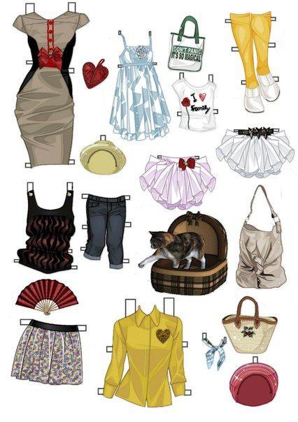 бумажные куклы-куклы детства | VK