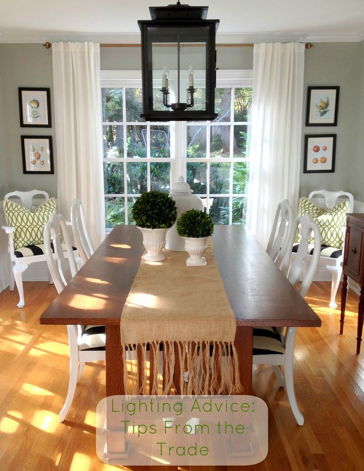 COTTAGE AND VINE Lighting Advice Tips From The Trade Cottage Dining RoomsSmall