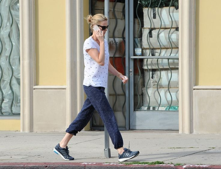 Charlize Theron and Jackson Theron are seen in Los Angeles.