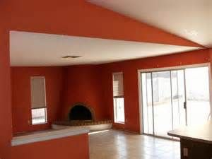 Search Orange and red painted walls. Views 113526.