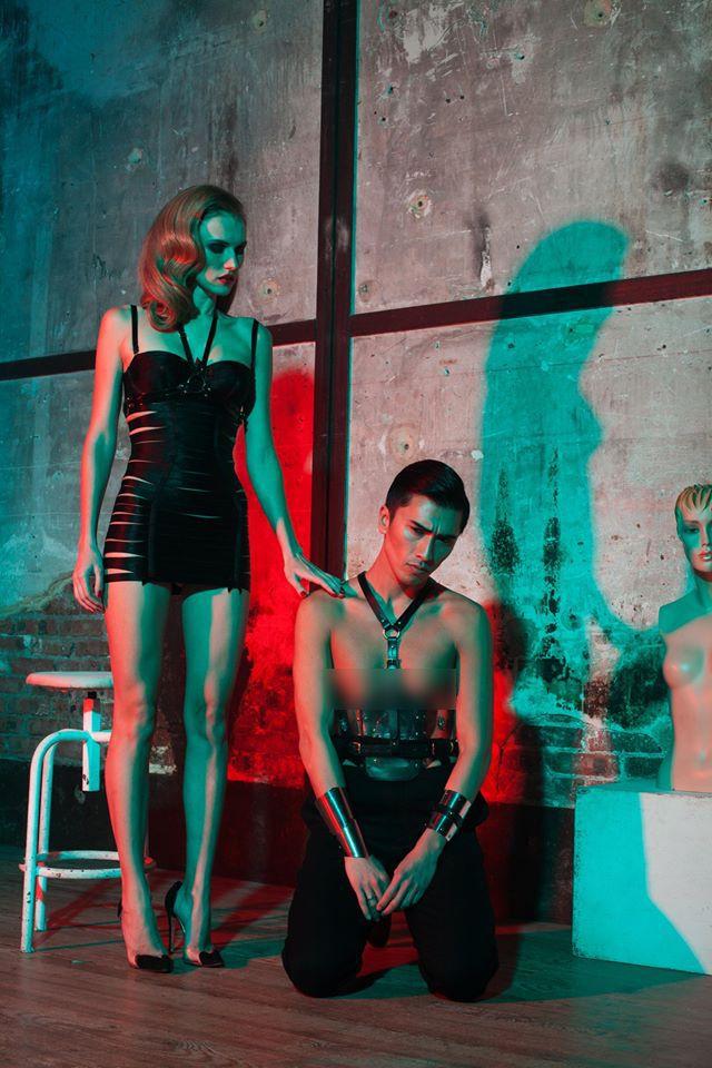 Brigade Mondaine® press in Fashion World Second Issue ★ ★ ★ issuu.com/... Photographer: Jus Vun Photography Creative Director | Jus Vun & Raja Fejjari Model | Deila Vogur Hair | Sadek L Makeup | Nadia Wicker
