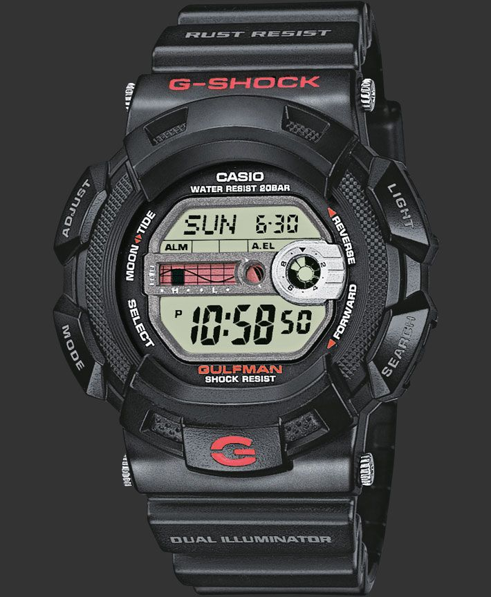 CASIO G-SHOCK Watch - G-9100-1ER black Loving these G Shocks,