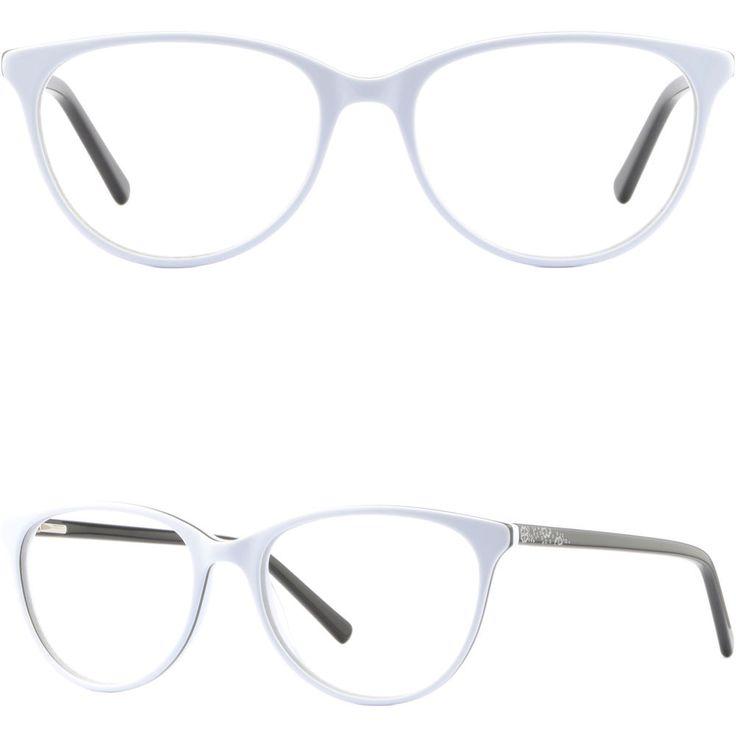 Cateye Womens Eyeglasses Plastic Frames Spring Hinges Prescription Glasses White