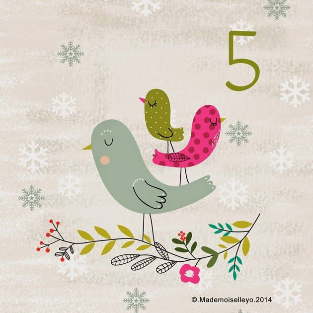 Mademoiselleyo: advent calendar 5: