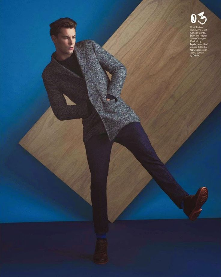 Christopher Poole y Jay Stevens para GQ Australia