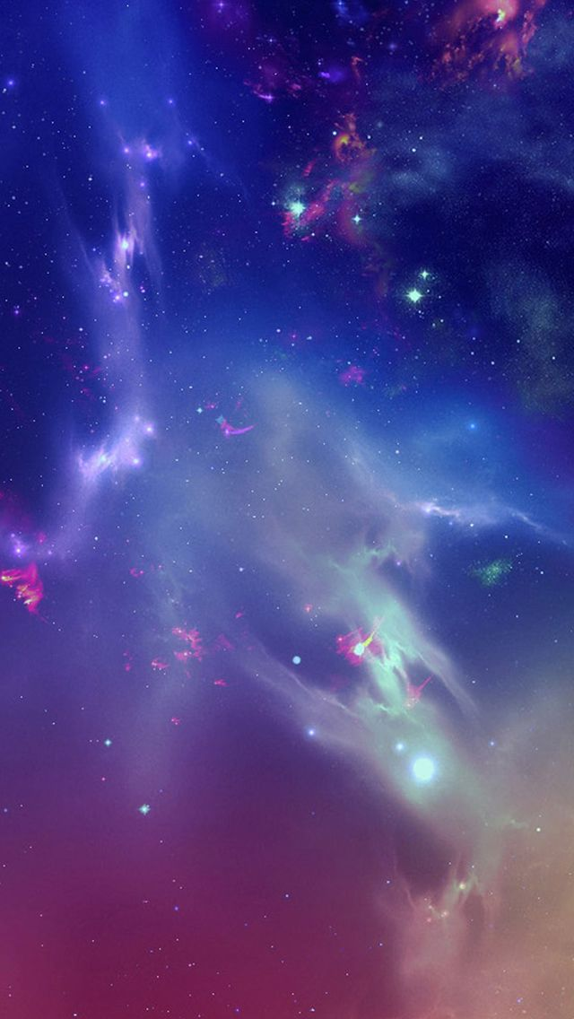 Outer Space Starry Nebula #iPhone #5s #wallpaper | iPhone ...