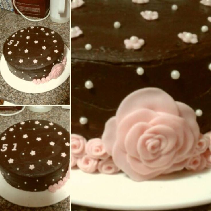Flowers Cake and Chocolat