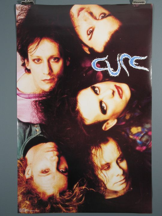 First off the Cure is my ultimate favorite band. This poster was given to me by my husband when I was 13. I got to finally see them in 2011 and it was one of the highlights of my life