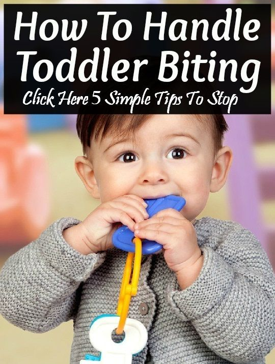 5 Simple Tips To Stop A Toddler From Biting: Here are a few common emotional and physical reasons that lead to toddlers biting behavior.