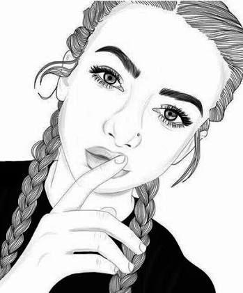 Resultado De Imagen Para Dibujos Faciles De Chicas Tumblr Citas