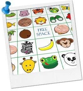 Print Jungle Bingo Cards...  birthdayinabox.com has the best games...in lots of different themes!