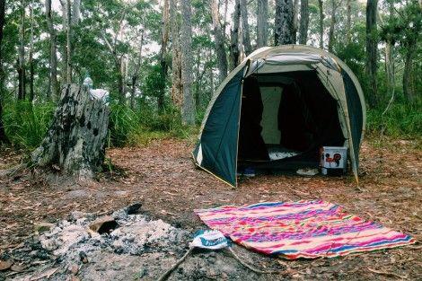 Camp at Meroo National Park