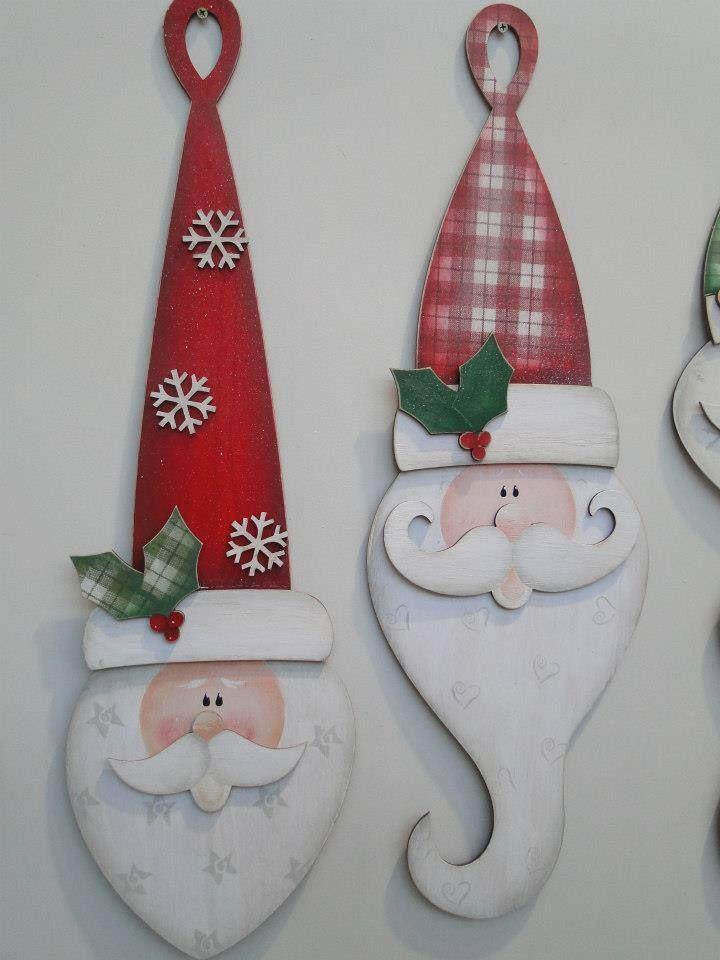 Santa heads. It was super cute until I typed that...