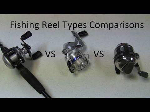 Best Fishing Reel Type - Spinning Vs Baitcasting Vs Spincaster Reels- Best Reel with Pros and Cons - YouTube