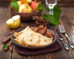 Crêpes bretonnes au cidre doux