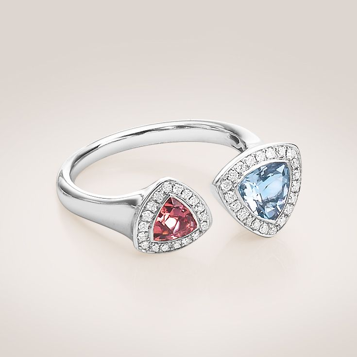 Charming and colorful spring ring with #diamonds #Bucherer #TrendCollection #MyLittleLuxury