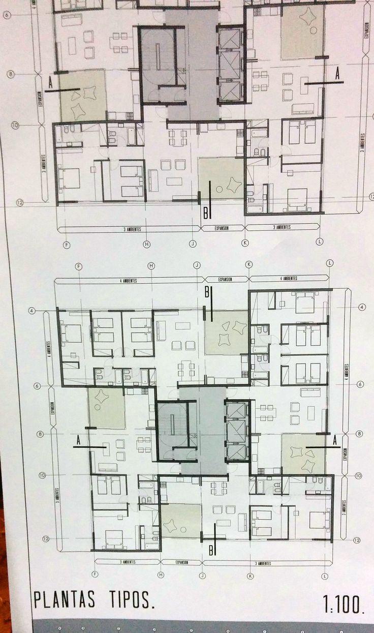53 best plantas tipo images on pinterest apartment floor plans