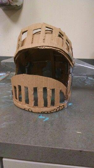 Helmet for Rescue Scene in Shrek the musical.