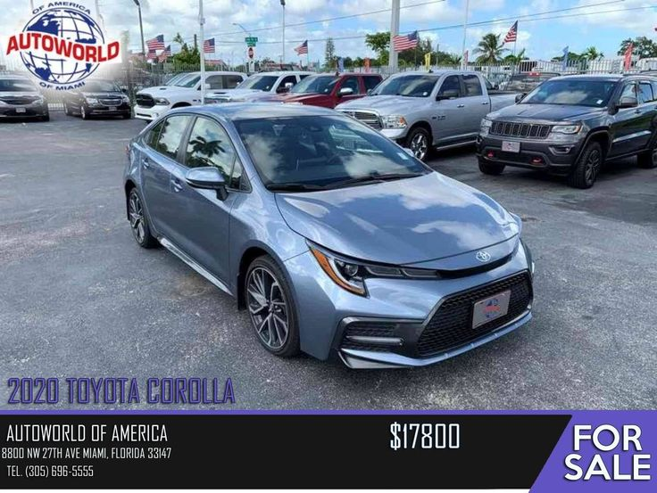 2020 Toyota Corolla Autoworld of America 8800 NW 27th Ave