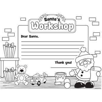 42 best santa 39 s workshop ideas images on pinterest for Dear santa template kindergarten letter