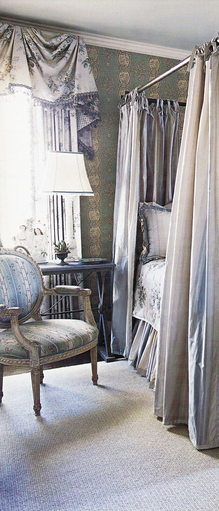 Melissa & Scot Ison's Bedroom by Charles Faudree, DECOR Spring Summer 2006