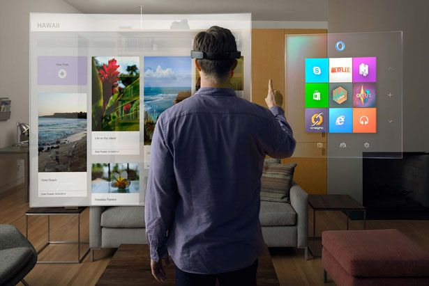 Microsoft HoloLens for Holographic Computing