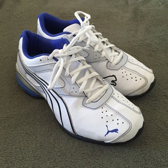 Women's shoes Women's Puma running shoes. Only worn a couple times. Size 8. Great support and super comfy! Puma Shoes Athletic Shoes