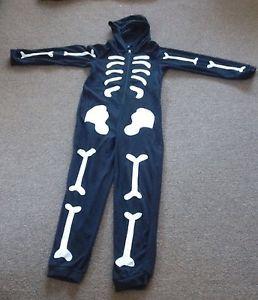 Girls Boys halloween Skeleton costume Onesie age 11 to 12 yrs Store Twenty One | eBay