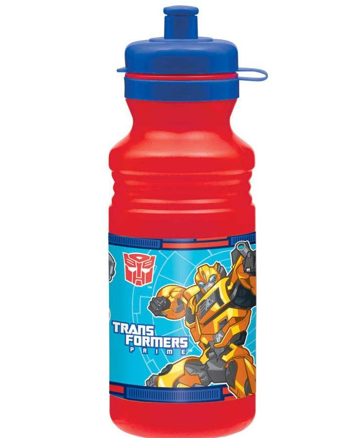 Transformers Prime Drink Bottle