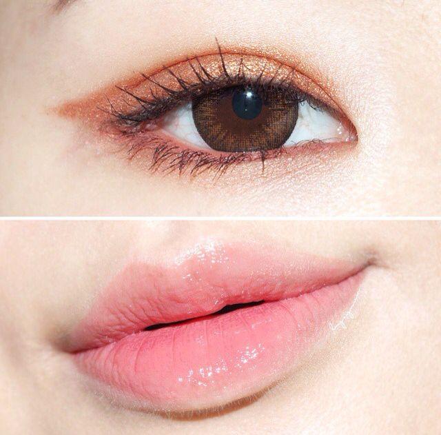 Gold Ulzzang makeup