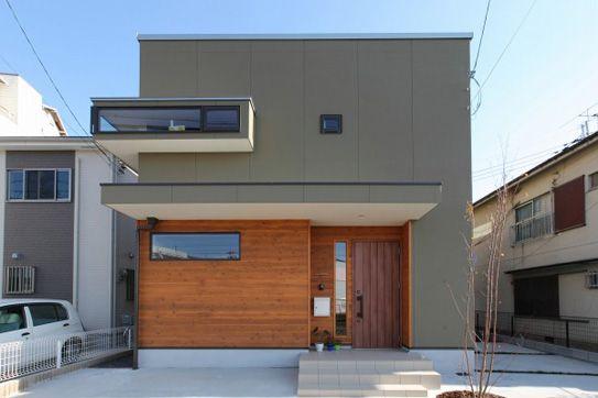 2階リビングに大きな開口部をもち、自然光をたっぷり取り入れるオリジナル注文住宅