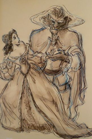 19 Disney Characters That Could Have Looked Completely Different - Beauty and the Beast.