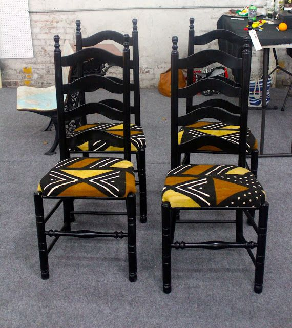 African Prints in Fashion: DIY Furniture Restoration with African Prints