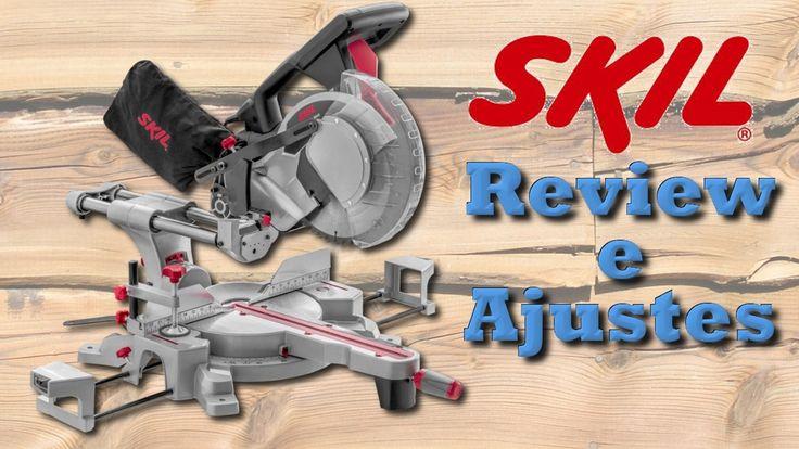 Serra de esquadria telescópica Skil 3311 - Review e Ajustes
